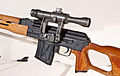 PSL Dragunov 7,62 × 54 mm R Sniper Rifle - Telescopic sight.jpg
