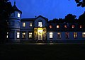 Pałac Lasotów nocą.JPG
