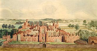 Oatlands Palace - The original 16th-century Oatlands Palace
