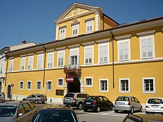 Gorizia - The Strassoldo Palace, residence of the Bourbon family in exile