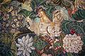 Palazzo colonna, sala dei ricami all'indiana, parati in seta di manifattura iberica (attr. a diego casale), 1650-75 ca. 04 gallo e gallina.JPG