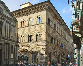 Palazzo Medici Riccardi by Michelozzo. Florence, 1444 Palazzo medici riccardi 33 Sailko adj.JPG