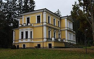 Symphony No. 8 (Dvořák) - Dvorák's summer residence, where he composed the symphony