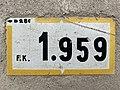 Panonceau PK 1,959 Route D28c Rue Gros Chêne Crottet 3.jpg