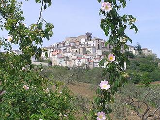 Lupara, Molise - Panorama of Lupara