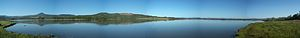 Agate Lake - Panorama from east side of Agate Lake