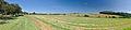 Panoramatický pohled na obec od jihozápadu, Hluchov, okres Prostějov.jpg