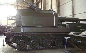 Panzerkannone 68 side view