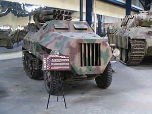 Panzerwerfer - Panzerwerfer 42 auf Maultier (Sd.Kfz. 4/1)