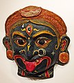 Papier-mâché mask at Odisha Crafts Museum, Bhubaneswar, Odisha, India 01.jpg