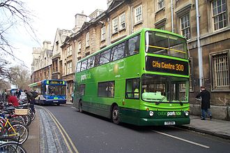 Magdalen Street - Image: Park and Ride Oxford 20050129