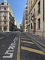 Parking interdit (pompiers) rue Corneille à Lyon.jpg