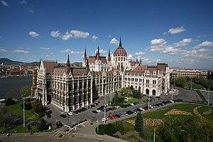 Kossuth tér - Hungarian Parliament Building