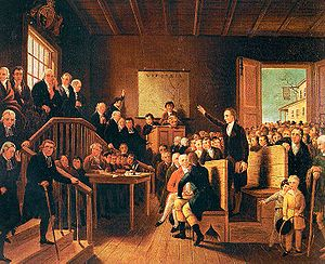 Patrick Henry - Patrick Henry Arguing the Parson's Cause by George Cooke