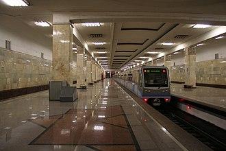 Partizanskaya (Moscow Metro) - Image: Partizanskaya mm