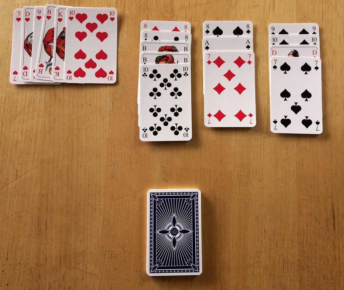 Kartenspiel Solitär Kostenlos