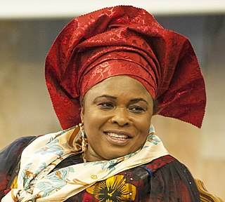 Patience Jonathan First Lady of Nigeria and permanent secretary in Bayelsa