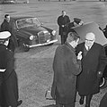 Paul Henri Spaak van Schiphol af naar Warschau vertrokken, Bestanddeelnr 915-8172.jpg