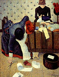 http://upload.wikimedia.org/wikipedia/commons/thumb/7/74/Paul_Signac_Deux_stylistes_Rue_du_Caire.jpg/230px-Paul_Signac_Deux_stylistes_Rue_du_Caire.jpg