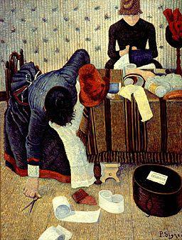 Paul Signac Deux stylistes Rue du Caire