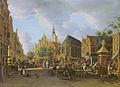 Paulus Constantijn la Fargue - De Groenmarkt gezien naar het Westeinde.jpg