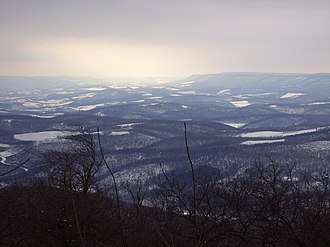 Blue Knob (Pennsylvania) - View from the Pavia overlook