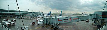 Pearson Airport Terminal 3 Tarmac.jpg