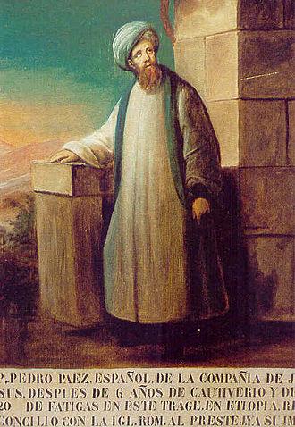 Pedro Páez - Undated portrait of Pedro Páez