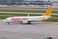 Pegasus Airlines Boeing 737-800 TC-AMP Zurich International Airport.jpg