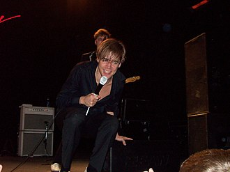 Agora Theatre and Ballroom - Pelle Almqvist of The Hives performs at the Cleveland Agora in 2008.