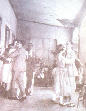 Venezuelan merengue - People dancing merengue rucaneao