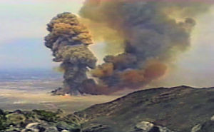 PEPCON disaster - The largest of the several explosions at the PEPCON plant