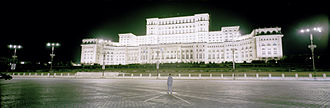 Democracy and Desire - Rebirth (Bucharest), 2006 Framed Colour Photograph Mounted on ´Dibond, ideal size 240 x 80 cm.