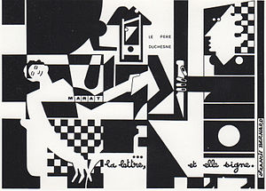 "Francis Bernard (artist) - A drawing of the series ""Père Duchesne"""