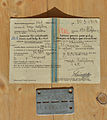 Permit and badge Prisoner of war Stalag XVIII-A name.jpg
