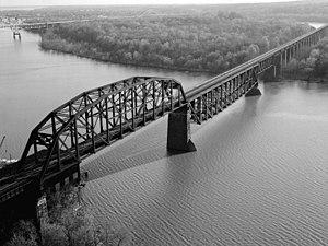 CSX Susquehanna River Bridge - Susquehanna River Bridge circa 1978