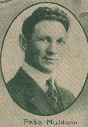 Pete Muldoon - Muldoon with the Seattle Metropolitans.