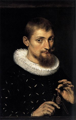 Peter Paul Rubens - Portrait of a Young Scholar, from 1597