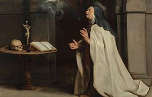 Mysticism -  The Appearance of the Holy Spirit before Saint Teresa of Ávila, Peter Paul Rubens
