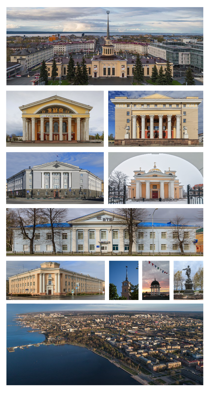 Petrozavodsk montage 2017