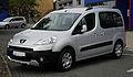 Peugeot Partner Tepee (II) – Frontansicht, 17. September 2011, Hilden.jpg