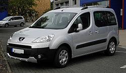 Peugeot Partner Tepee (2008-2012)