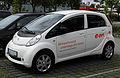 Peugeot iOn – Frontansicht, 17. Juli 2011, Düsseldorf.jpg