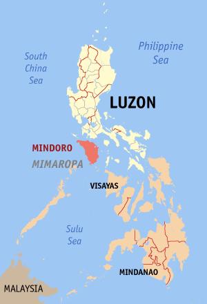 Mindoro - Location within the Philippines