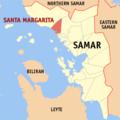 Ph locator samar santa margarita.png