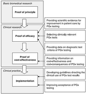 Pharmacogenomics - Image: Pharmacogenomics challenges from research to practice