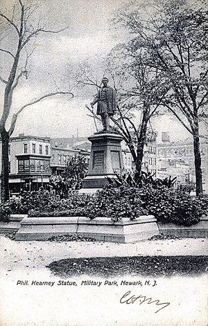 Philip Kearny - Statue in Military Park, Newark