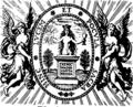 Philosophiæ naturalis principia mathematica. Auctore Isaaco Newtono, Equite Aurato. Fleuron T093210-1.png