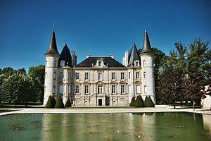 Château Pichon Longueville Baron - Chateau Pichon Baron, Pauillac, Bordeaux, France