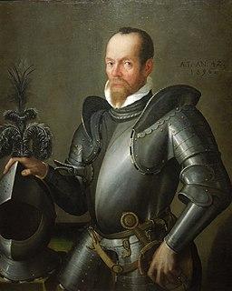 Pier Maria Bagnadore - Portrait of a Man in Armour